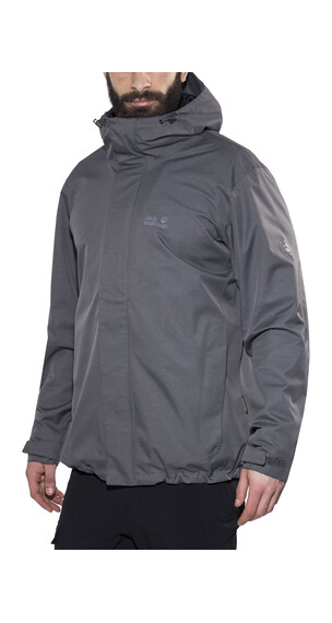 Jack Wolfskin Beerenberg Sky Jacket Men dark iron